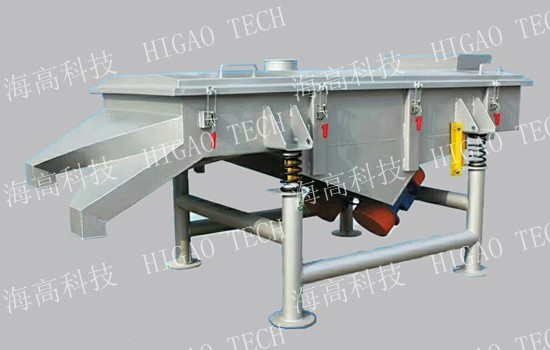 rectangular linear vibrating screen machine